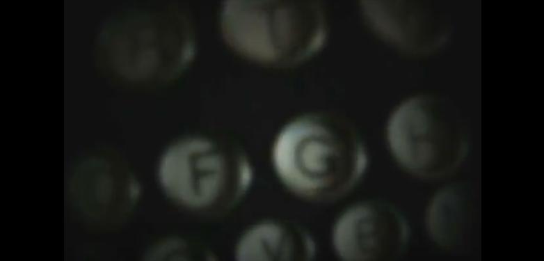 typewriter, poem