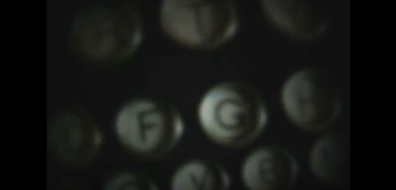 typewriter, poem