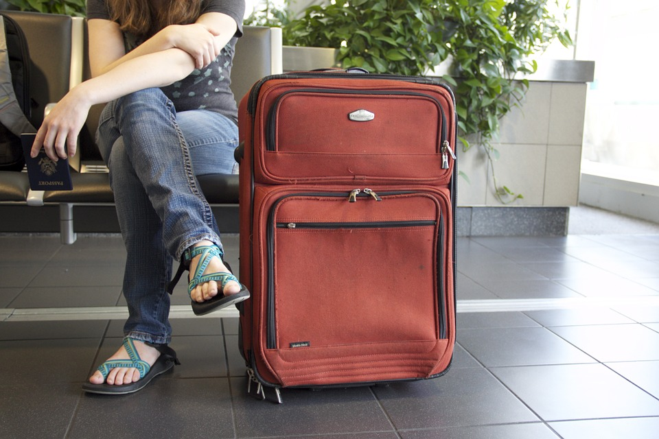 suitcase, passenger