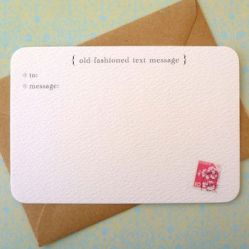 Text-Message-Notecards