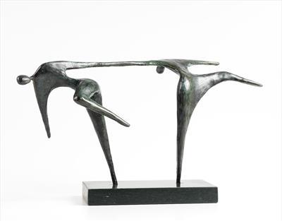 sculpture, dancers, Jennifer Watt, sculpture