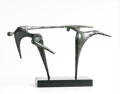 sculpture, dancers, Jennifer Watt, sculpture