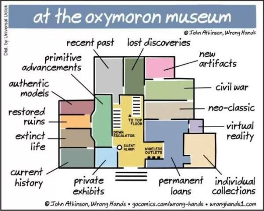 Plan of Oxymoron Museum