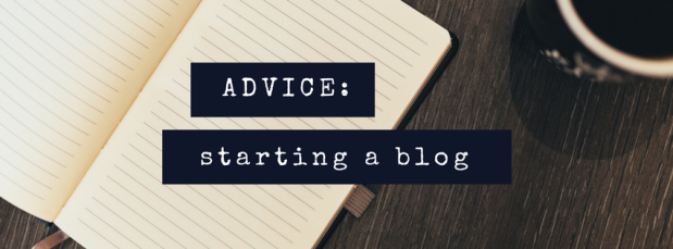 advice on starting a blog, at www.commaand.co