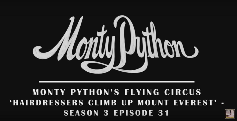 Monty Python comedy