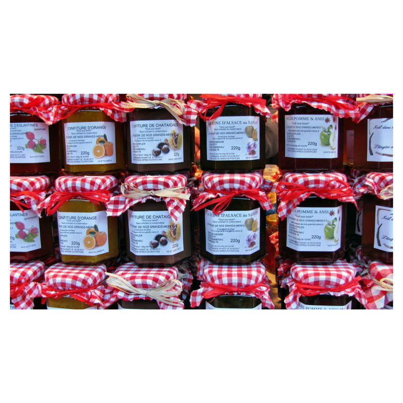 Taster notes for jam; varieties; at www.commaand.co