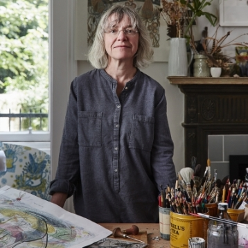Angie Lewin, the artist