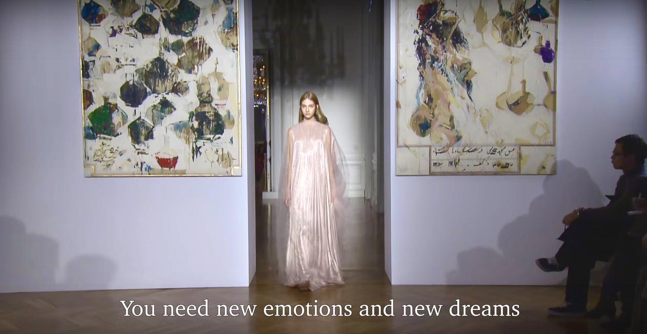 fashion, dreams, Valentino, design