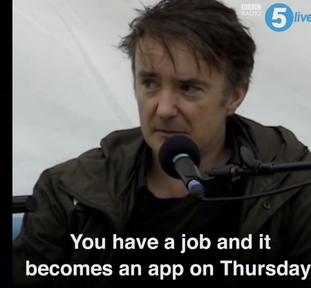 Dylan Moran, writing comedy