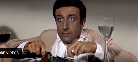 chicken, Peter Sellers, party