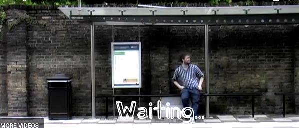 Waiting, zero budget video