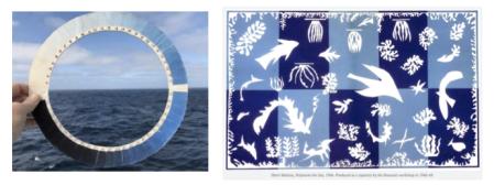 Cyanometer, sea, sky, Matisee