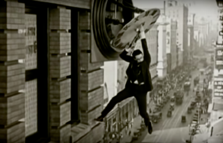 stunt, film, time, Harold Lloyd