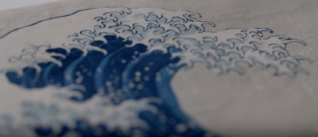 Japanese woodblock, Hokusai